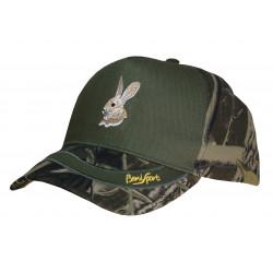 Gorra 5 paneles camu - conejo