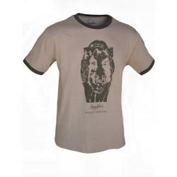 "Camiseta algodón ""jabalí"""