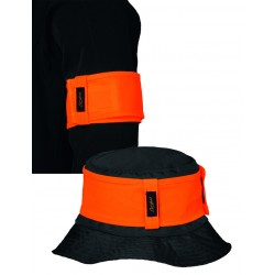 Brazalete seguridad naranja