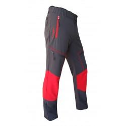 """Pantalón gris-rojo """"jucar""""..."""