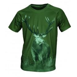 """Camiseta técnica """"ciervo"""""""