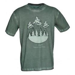 Camiseta algodón lavada...
