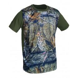 "Camiseta 3D ""zorzal"""