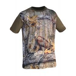 "Camiseta 3D ""becada"""