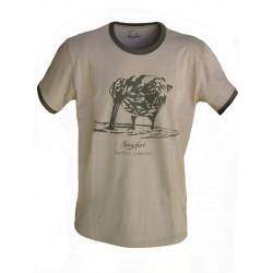 """Camiseta algodón """"becada"""""""