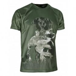 """Camiseta técnica """"perro""""..."""