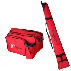 Pack tiro - Rojo - Bolsa &...