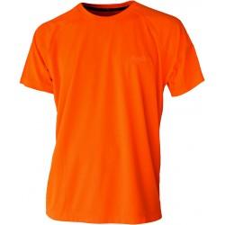 Camiseta técnica naranja