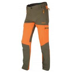 Pantalón marrón-naranja...