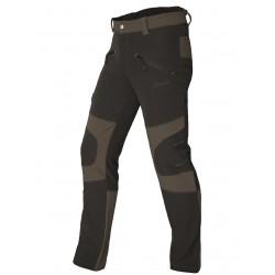 Pantalón marrón-negro...